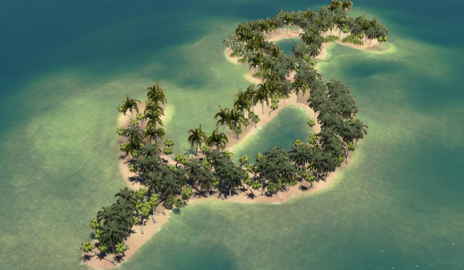 shu-dollar shaped island-asset tracing-offshore assets-96603859-happy_hour