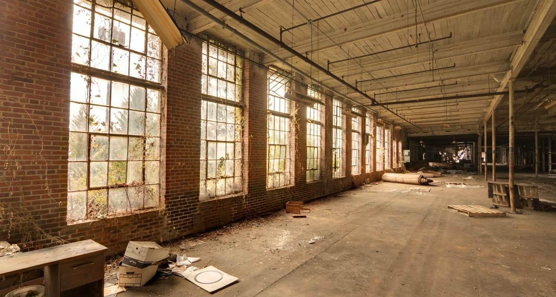 Empty business building