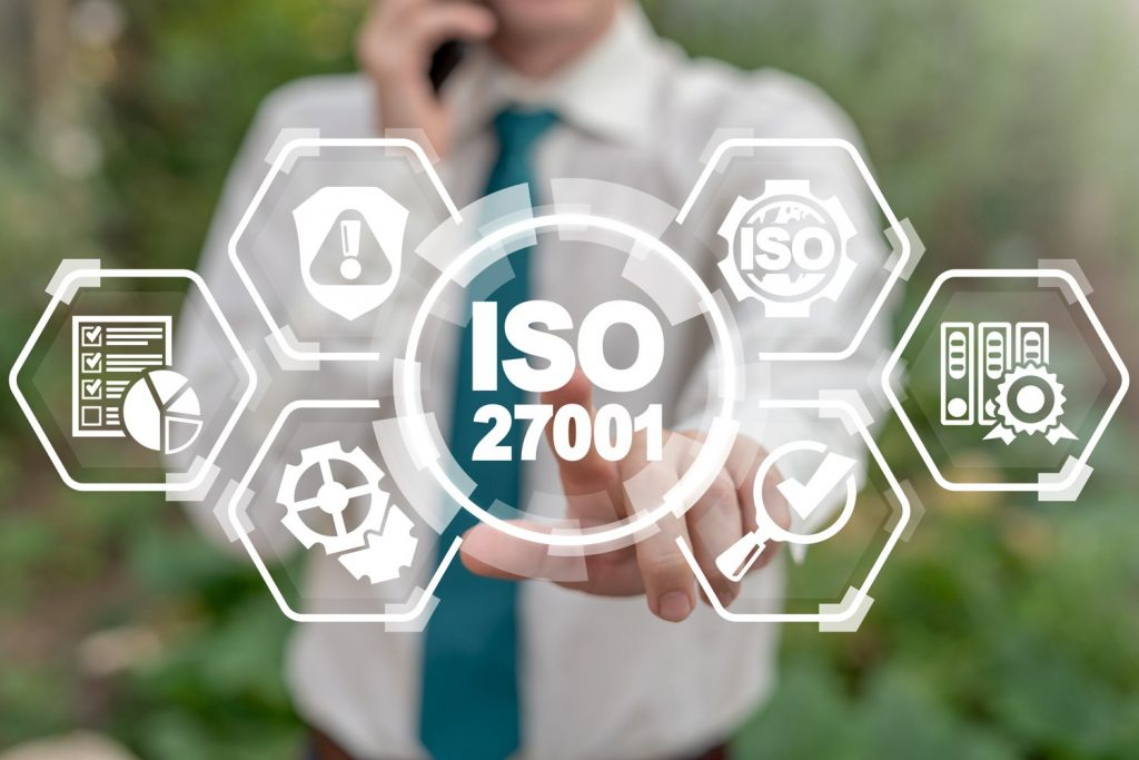 A concept image of ISO 27001