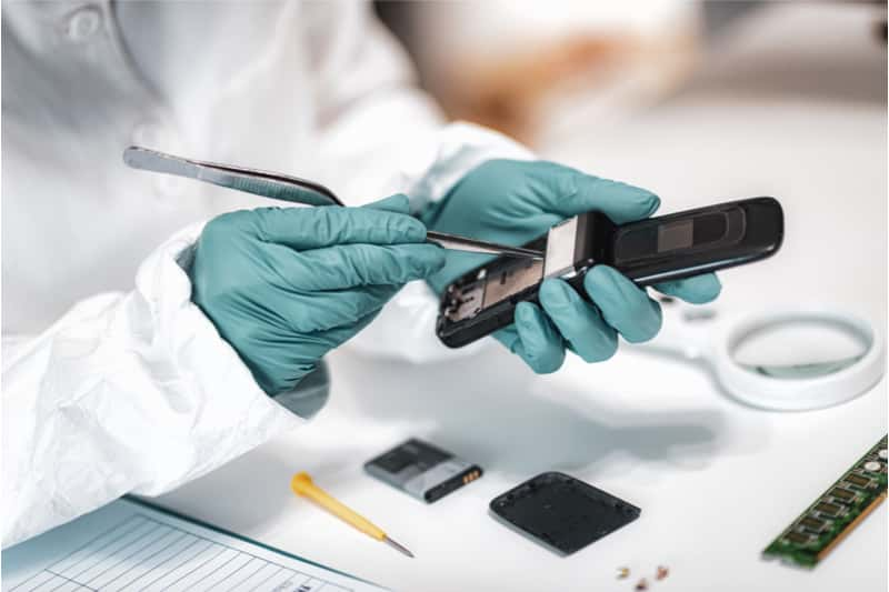mobile phone and tablet forensics